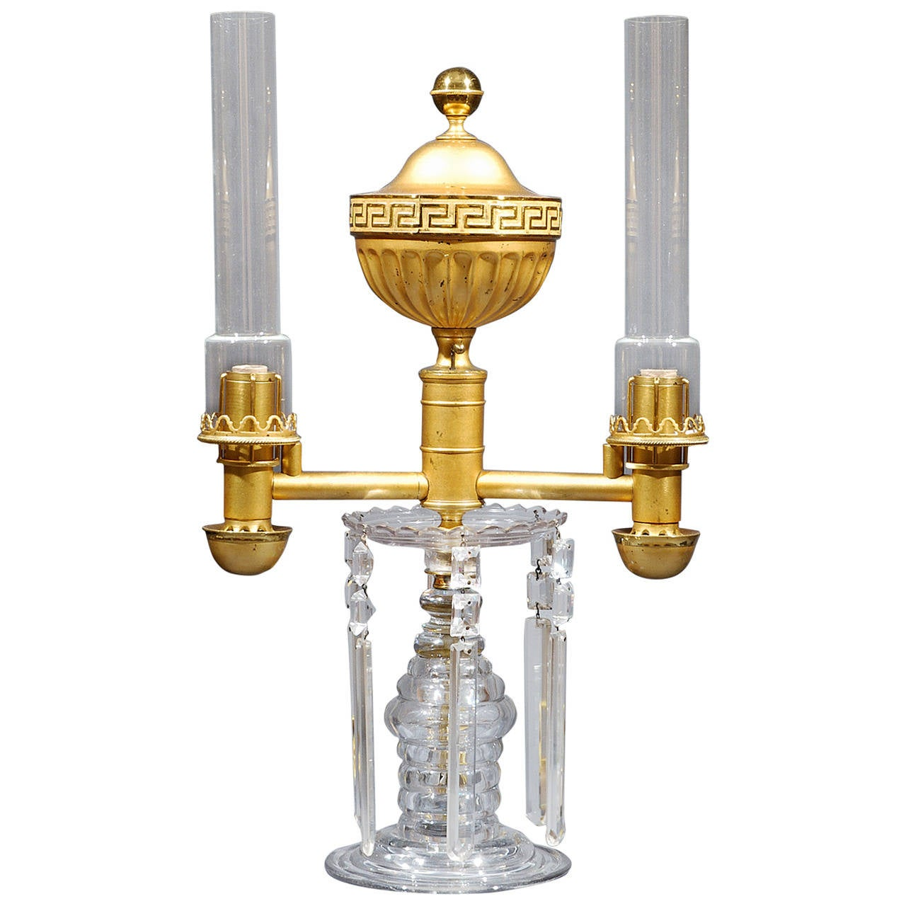 Double Argand Lamp For Sale
