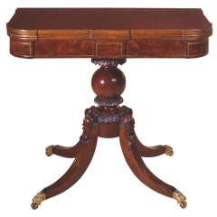 Card Table with Ball Support