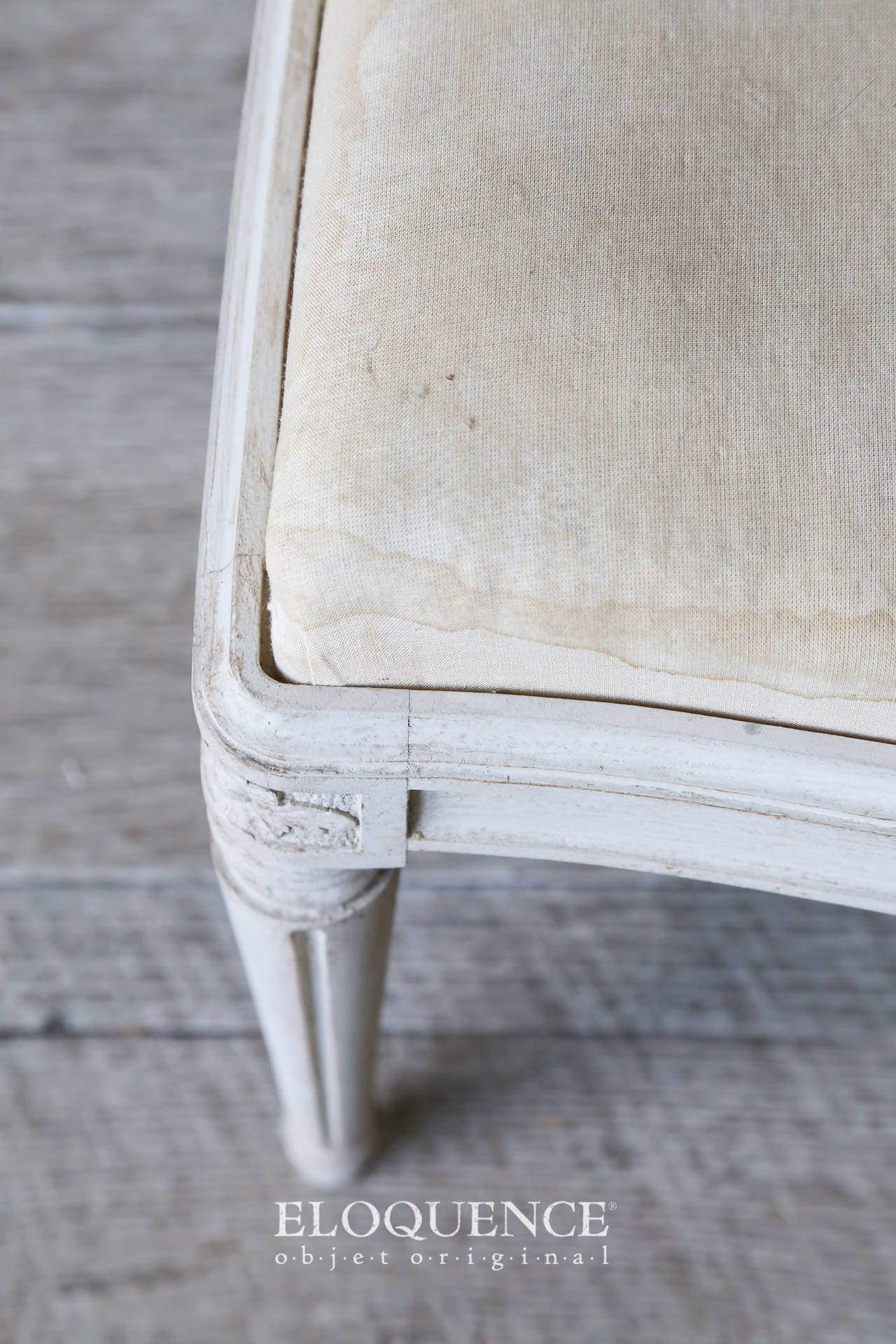 Set of 8 Vintage Gustavian Dining Chairs, circa 1920 7