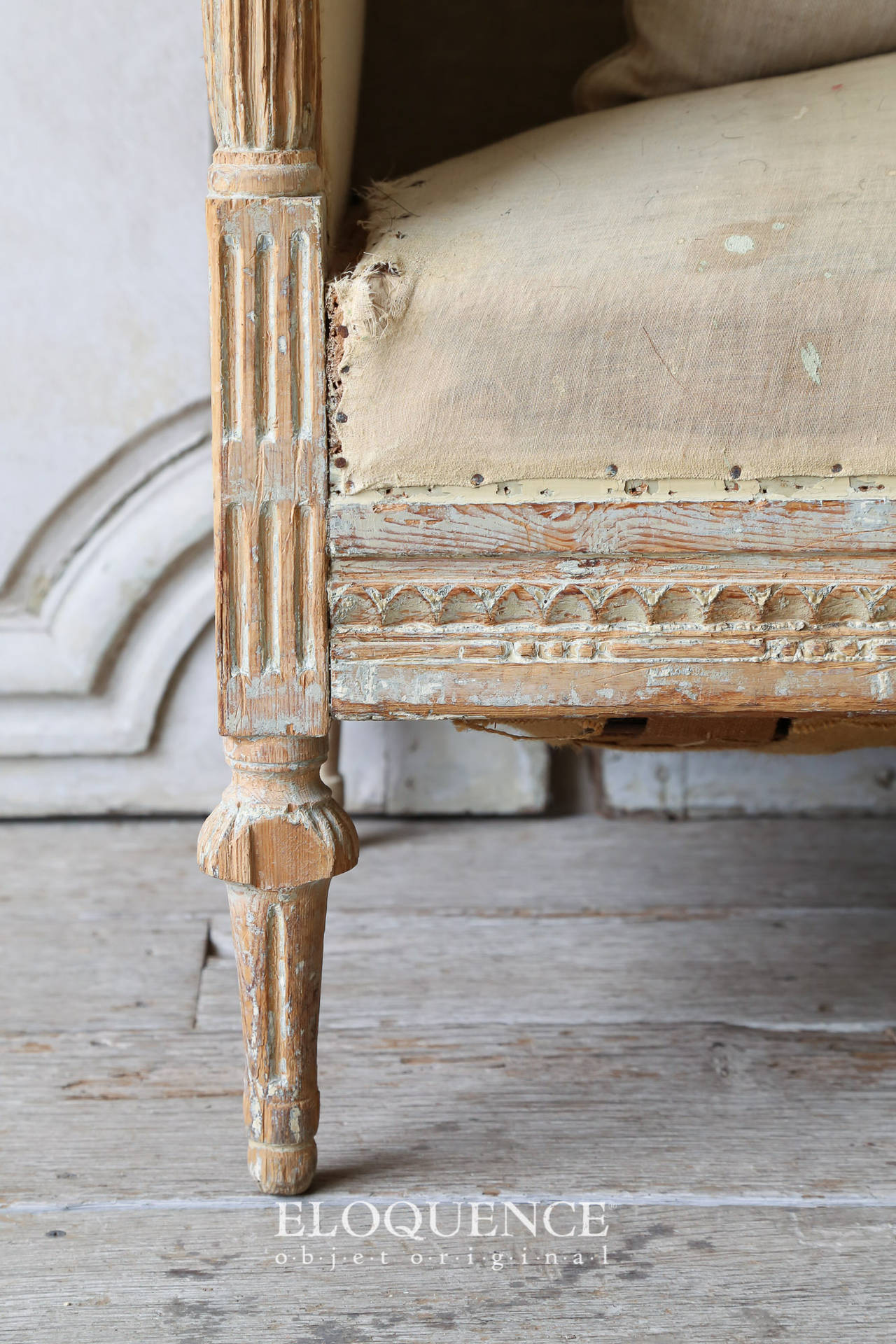 Antique Gustavian Daybed, circa 1790 8