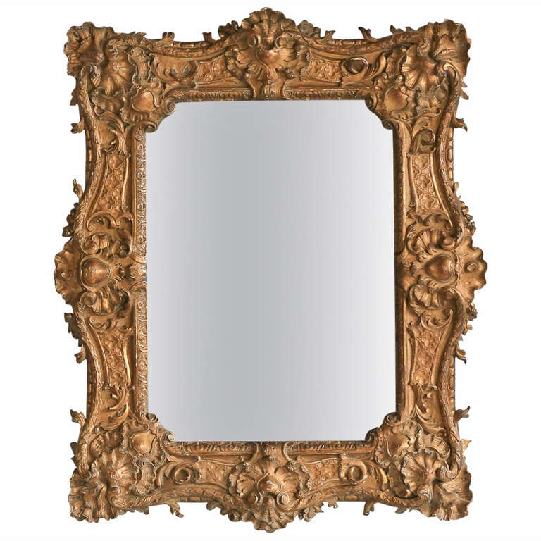 fabulous antique baroque french mirror at 1stdibs