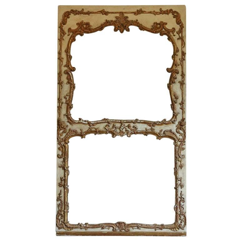 Huge antique mirror frame at 1stdibs for Vintage floor length mirror