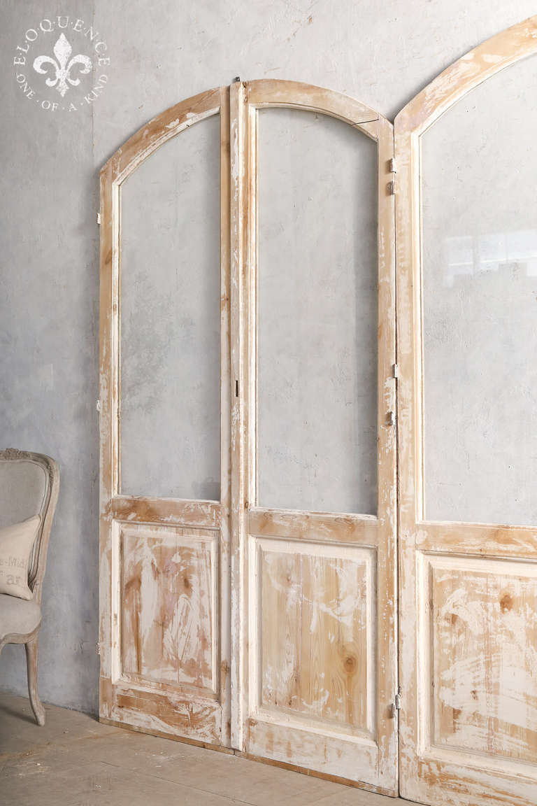 Beautiful Rustic Vintage Arched Doors At 1stdibs