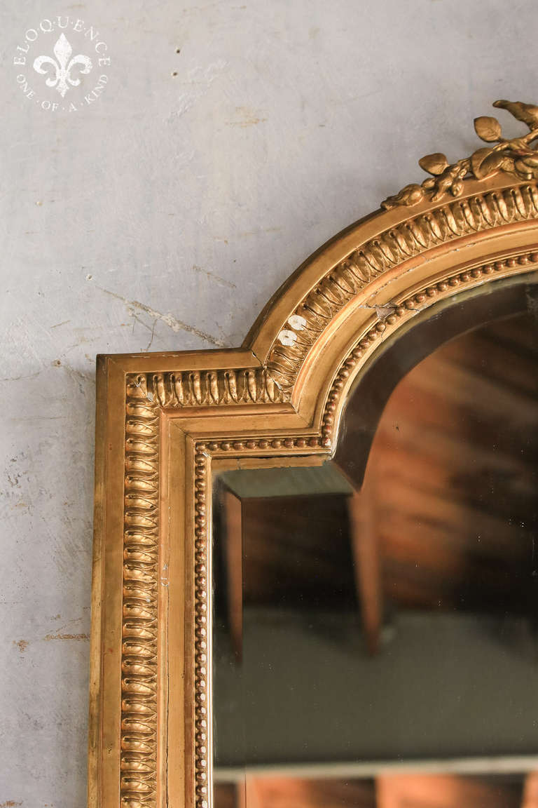 Gorgeous Antique Napoleonic Gilt Mirror Circa 1890 At 1stdibs