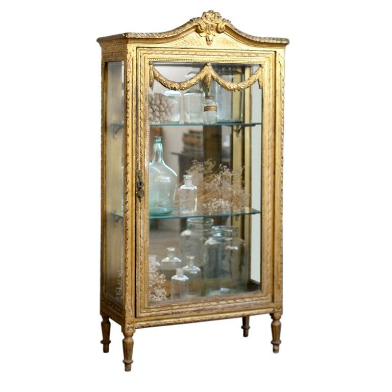 vintage vitrine at 1stdibs. Black Bedroom Furniture Sets. Home Design Ideas