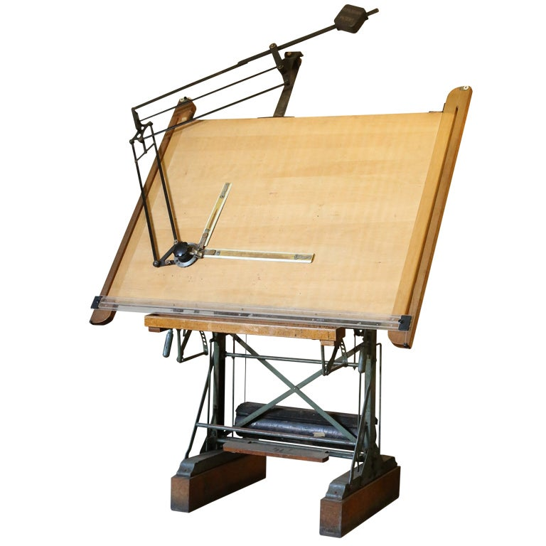 Wood Drafting Tables