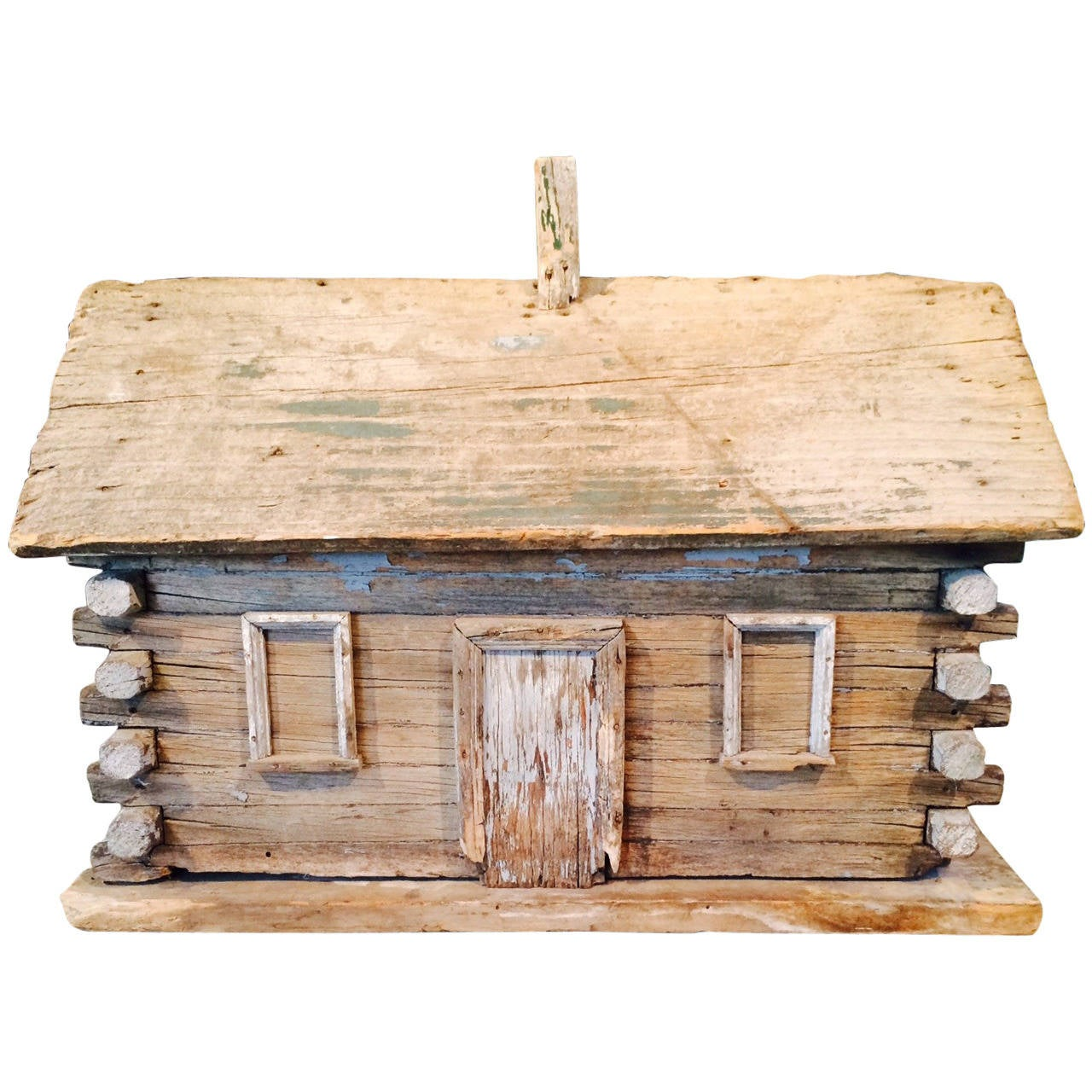 rustic log cabin birdhouses - photo #9