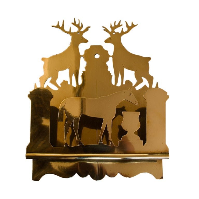 English Brass Letter Box