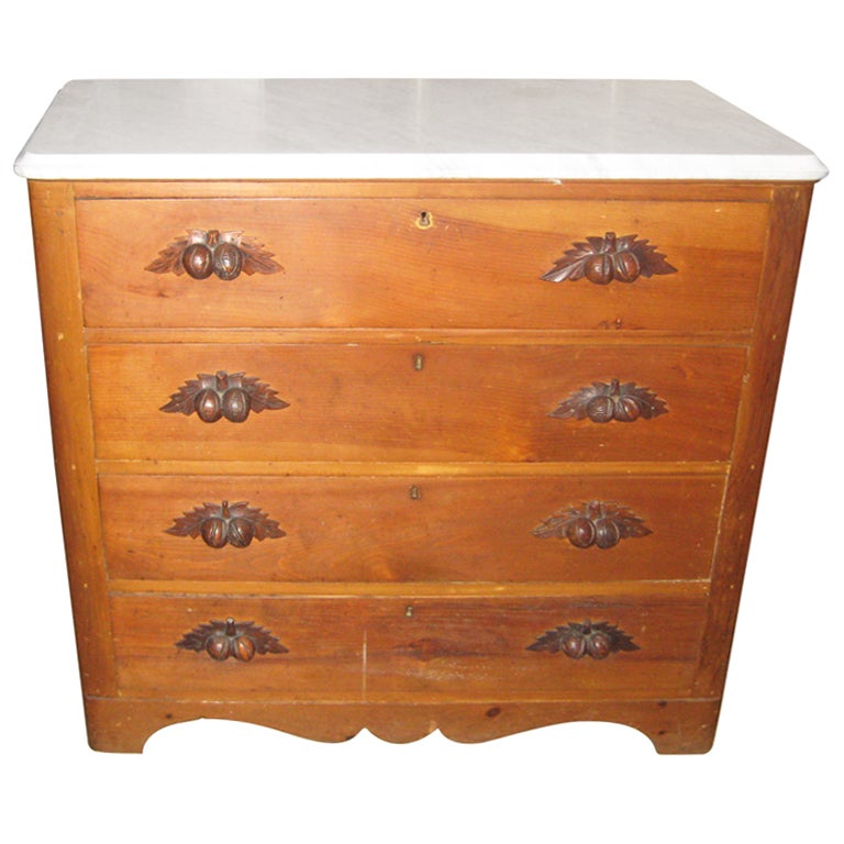 Pine chest of drawers at 1stdibs for Interior design 02554