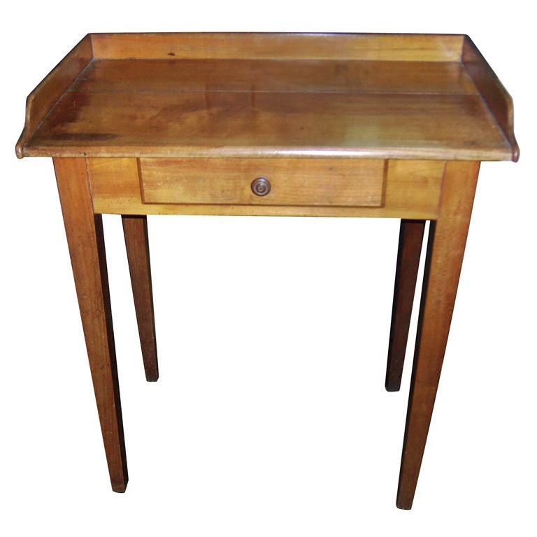 Small cherry side table at 1stdibs for Cherry side table