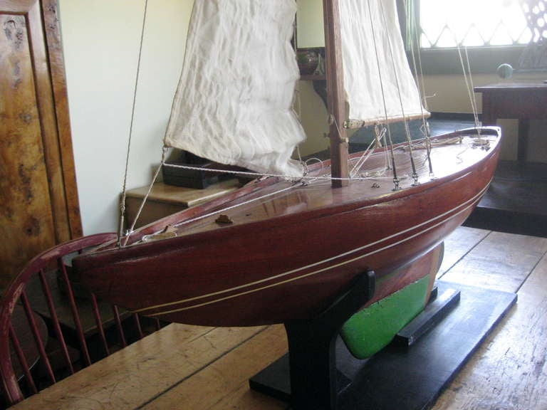 Antique American Pond Model In Good Condition For Sale In Nantucket, MA
