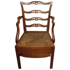 Fruitwood Arm Chair