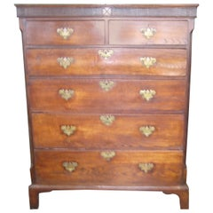 Antique Welch Oak Chest of Drawers