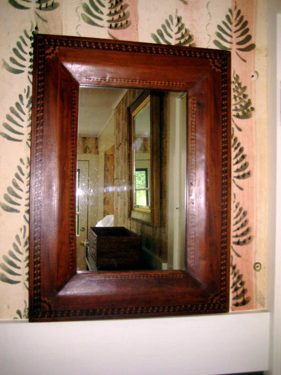 Marquetry mirror at 1stdibs for Interior design 02554