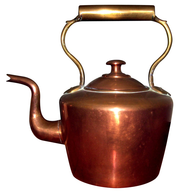 Copper Tea Kettle At 1stdibs