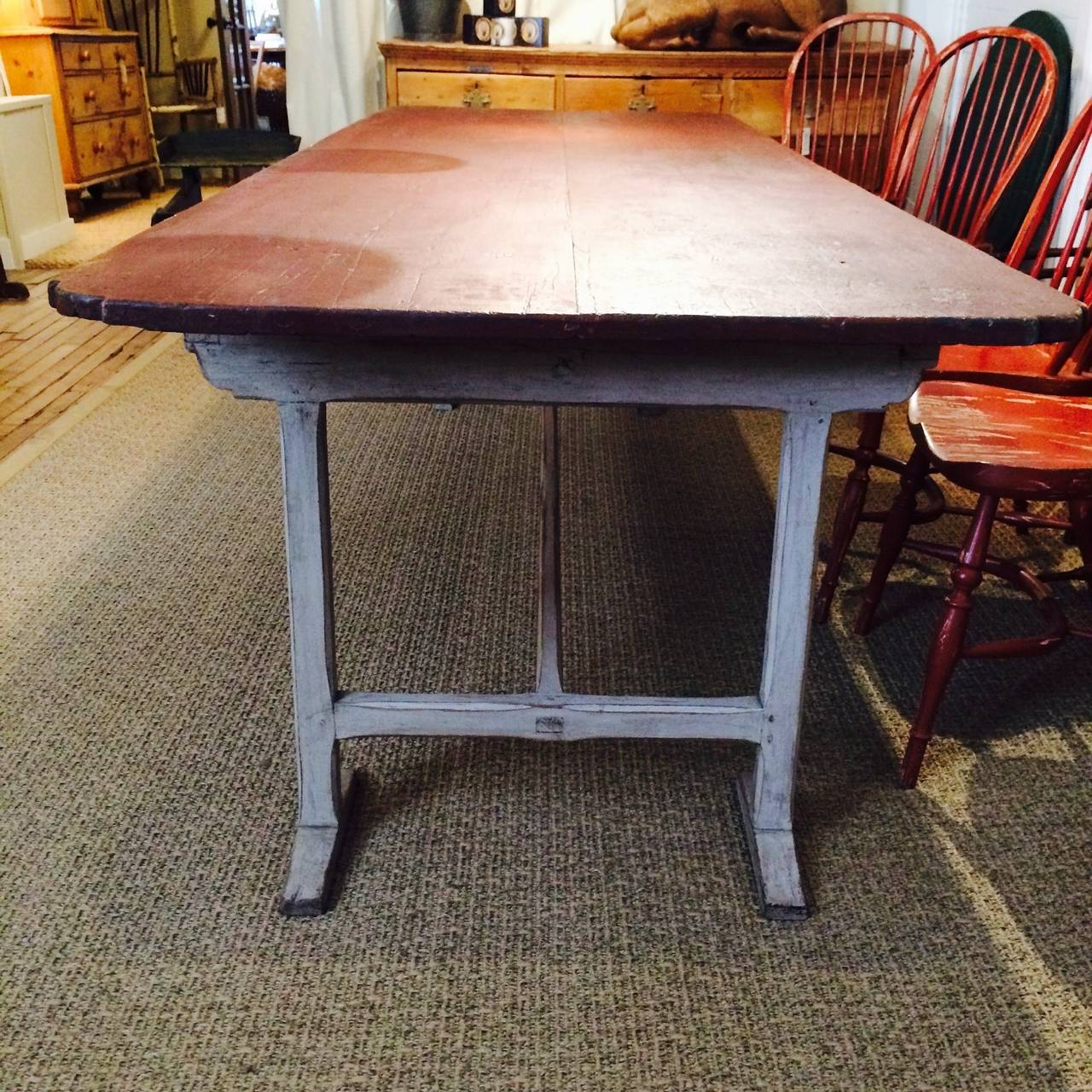 19th Century Dining Table likely Canadian For Sale at 1stdibs