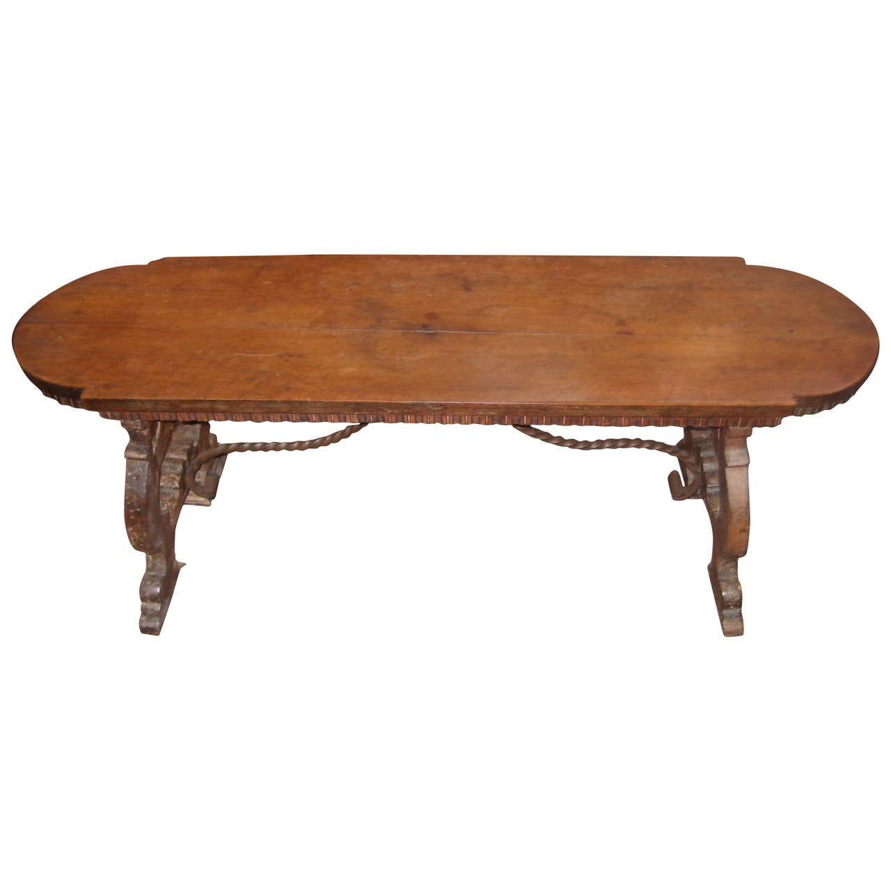 Walnut Bench For Sale At 1stdibs