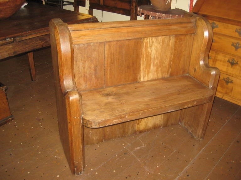 19th Century Church Bench For Sale At 1stdibs