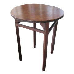 Canadian Pine Round Stand