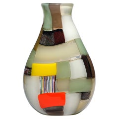 Extra Large Crazy Quilt Vase By Robin Mix