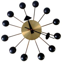 Vintage ball clock George Nelson Herman Miller