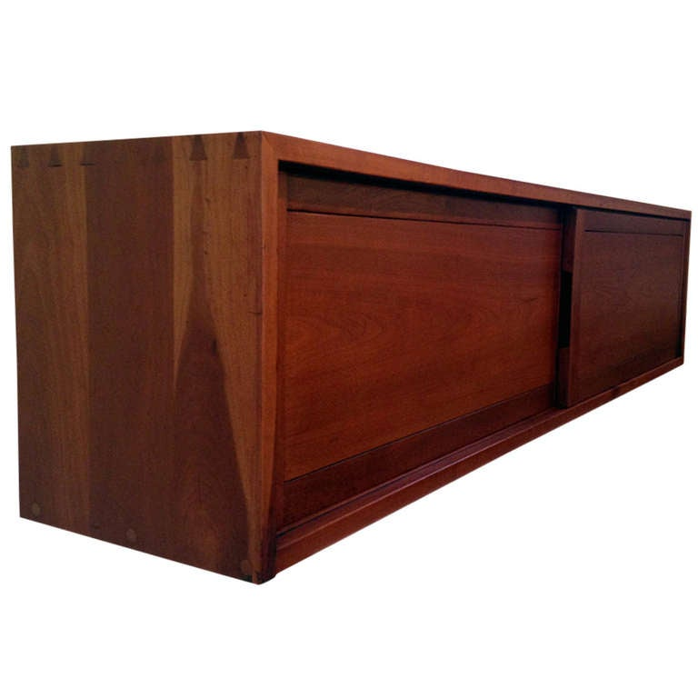 Walnut Wall Mount Cabinet George Nakashima