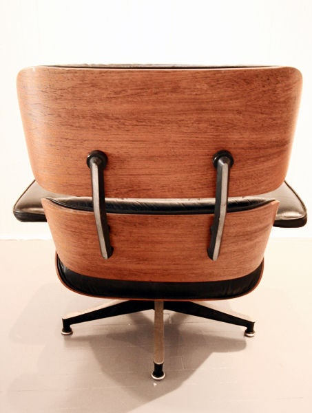 original charles eames lounge chair and ottoman at 1stdibs