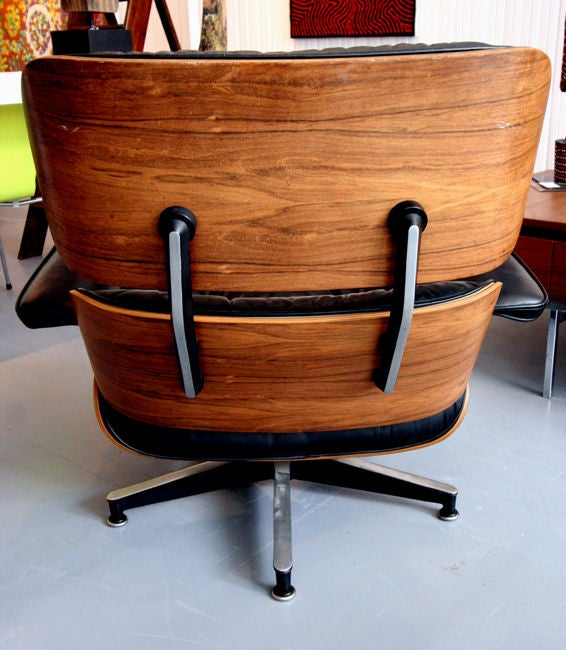 original charles eames 670 671 lounge chair and ottoman at 1stdibs. Black Bedroom Furniture Sets. Home Design Ideas
