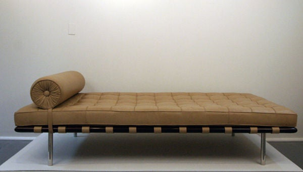 this mies van der rohe barcelona day bed by knoll is no longer. Black Bedroom Furniture Sets. Home Design Ideas