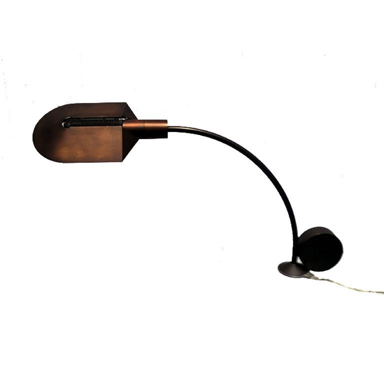 Cedric Hartman Omaha Bronze Desk Lamp For Sale