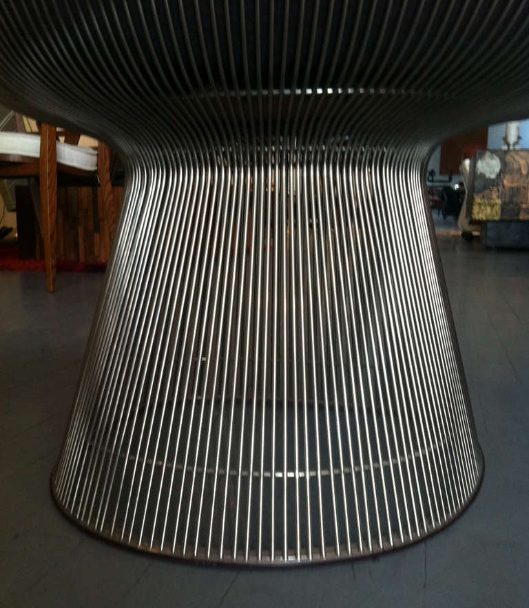 Mid-20th Century Pair of Warren Platner lounge chairs Knoll