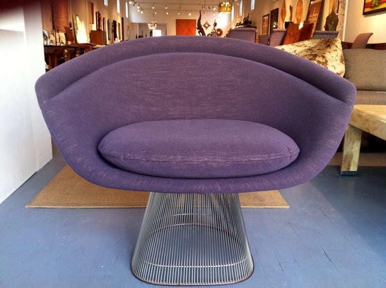 American Pair of Warren Platner lounge chairs Knoll