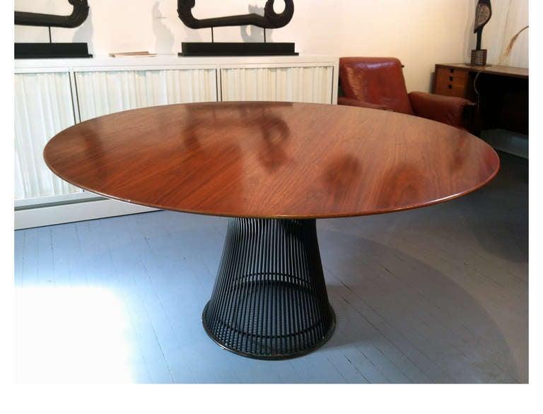 Vintage Warren Platner Round Dining Table Bronze Base  : IMG3743l from www.1stdibs.com size 768 x 586 jpeg 39kB