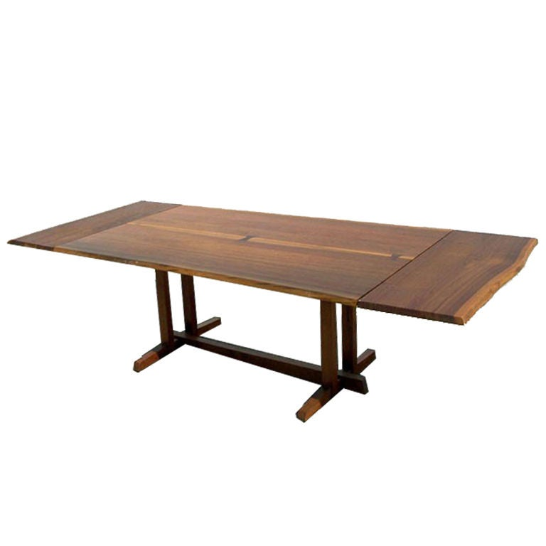 walnut rosewood dining table extension george nakashima at