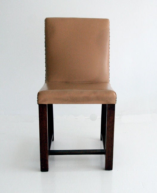 Set of Four Art Deco chairs Gilbert Rohde Heywood Wakefield In Good Condition For Sale In Atlanta, GA