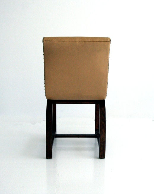 Mid-20th Century Set of Four Art Deco chairs Gilbert Rohde Heywood Wakefield For Sale