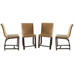 Set of Four Art Deco chairs Gilbert Rohde Heywood Wakefield