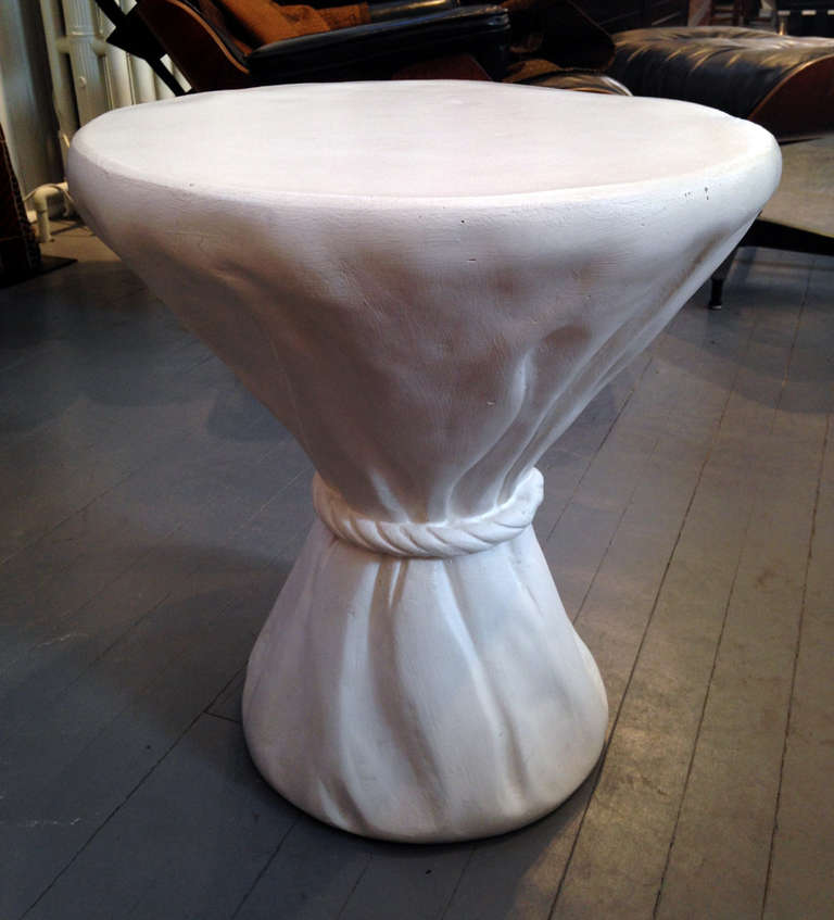 Mid-Century Modern Plaster Rope Table John Dickinson For Sale