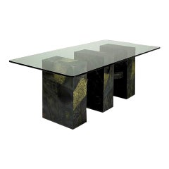Paul Evans Sculpted Bronze Dining Table Base