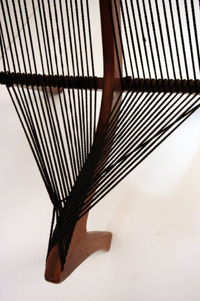 Danish Harp Chair Attributed to Jorgen Hovelskov For Sale