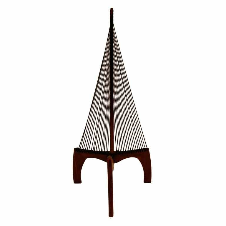 Harp Chair Attributed to Jorgen Hovelskov