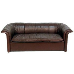 Leather Sofa Dunbar by Dennis Christiansen