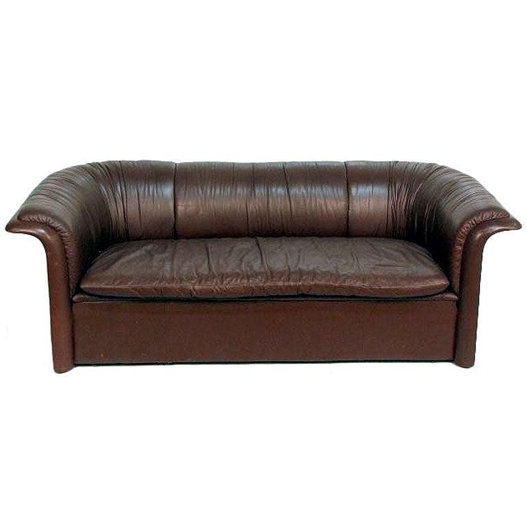 Leather Sofa Dunbar by Dennis Christiansen