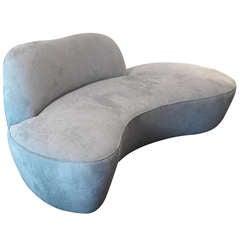 Sculptural Cloud Sofa Vladimir Kagan for Directional