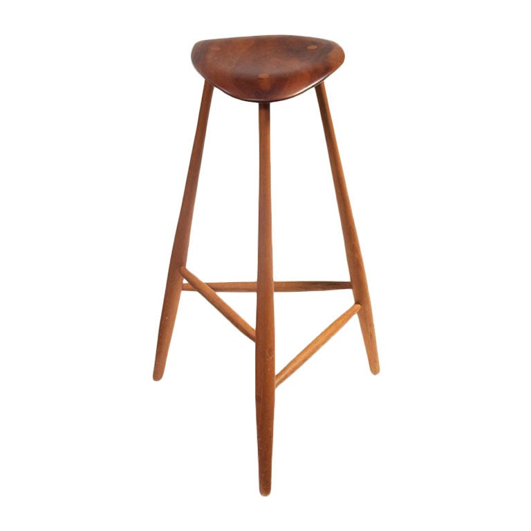 Studio crafted stool Wharton Esherick For Sale