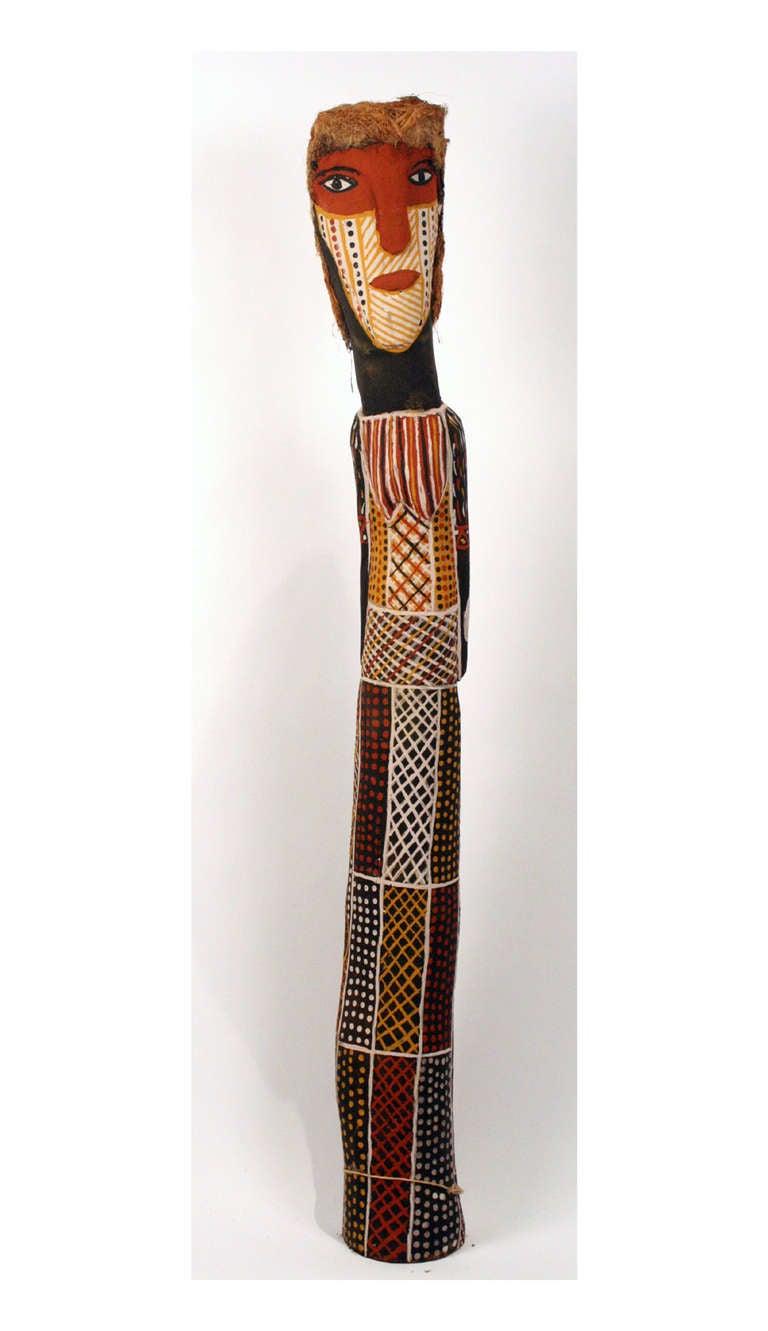 Ironwood woman ancestor statue australian aboriginal for
