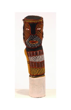 Australian aboriginal ironwood Bima Figure Carving Tiwi Island