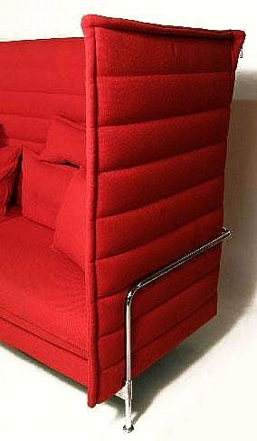 Alcove Sofa Ronan & Erwan Bouroullec Vitra High Back Version 2