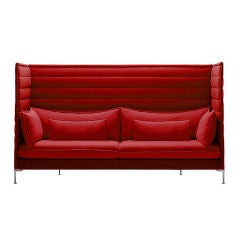 Alcove Sofa Ronan & Erwan Bouroullec Vitra High Back Version