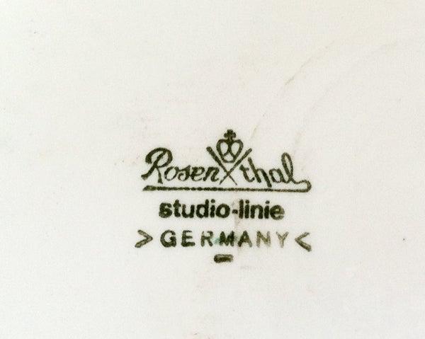 German Three Rosenthal Pollo Vases Studio Line Tapio Wirkkala For Sale